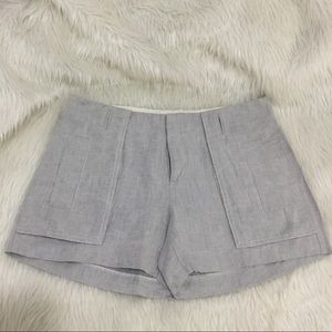Banana republic Martin fit gray summer shorts